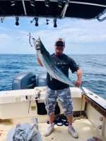 Another Maryland fisherman w a nice king w Capt John
