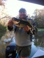 Roc With A Largemouth Bass