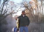 Beautiful Morning With Low Fog And An Ocklawaha Bass