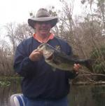 Larry from South Carolina With An Ocklawaha Bass