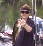 Jen With An Ocklawaha Bass