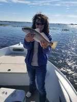 Beautiful Redfish Caught With Captain Kyle
