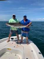 Whooper of a Cobia with a nice catch