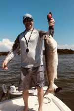 WOOHOO! Mr W. With A Monster Redfish