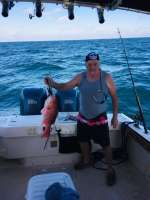 Roger with a beaut of a Red Snapper