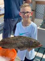 This Mighty Fisherman's First Grouper Ever