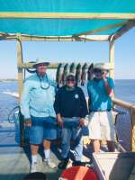 Uncle Jed n crew w another fine day w Capt John
