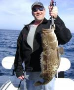 Being offshore and nice grouper makes it worth the ride
