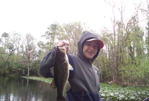 Tom With An Ocklawaha Bass