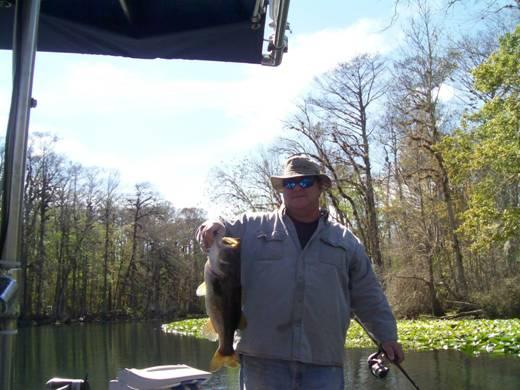 Bobby With An Ocklawaha Bass