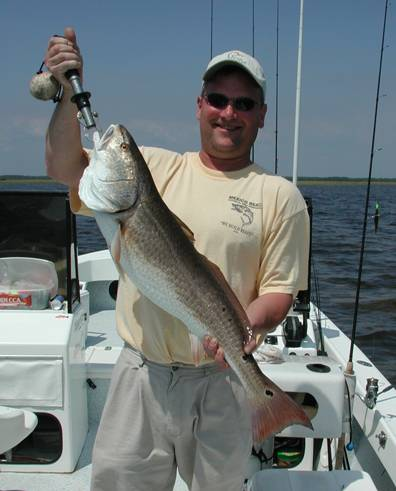 A Red like this makes you glad you went to Steinhatchee to fish with Captain Steve