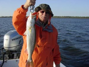 A Cold Weather Steinhatchee Trout
