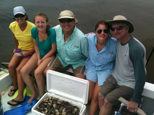 The Work Is Done Steinhatchee scalloping, it's what families do