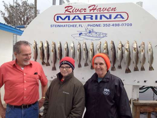 A Day's Catch Caught With Pepperfish Key Charters