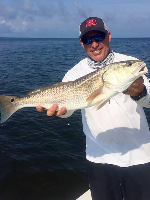 Art Mowery With A Fine Cedar Key Redfish