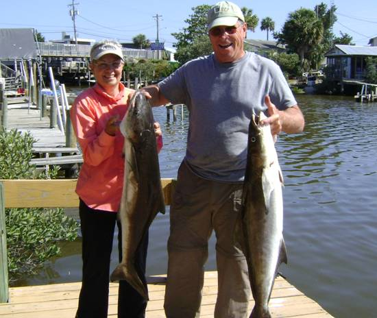 mr & mrs k w his n hers cobia, nice job guys