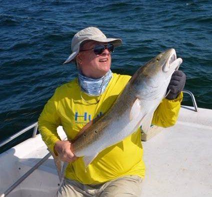 Huge Cedar Key Redfish