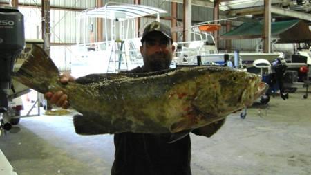 Brian w a huge 17.5 lb gag